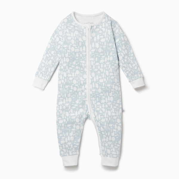 Little Polar Zip-Up Sleepsuit
