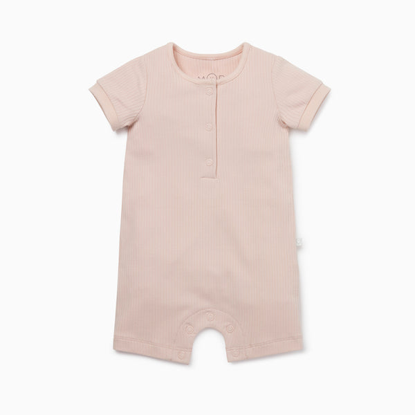 Ribbed Summer Sleepsuit