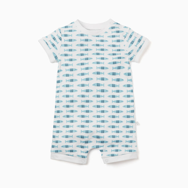 Little Fish Summer Sleepsuit