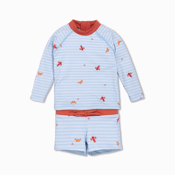 Crab Swim Vest & Shorts Set