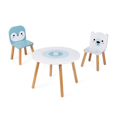 Janod Polar Table & Chairs Set