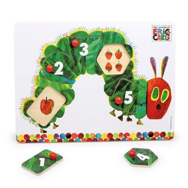 The Very Hungry Caterpillar Wooden Peg Puzzle