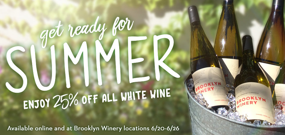 Brooklyn Winery 2016 Summer Sale