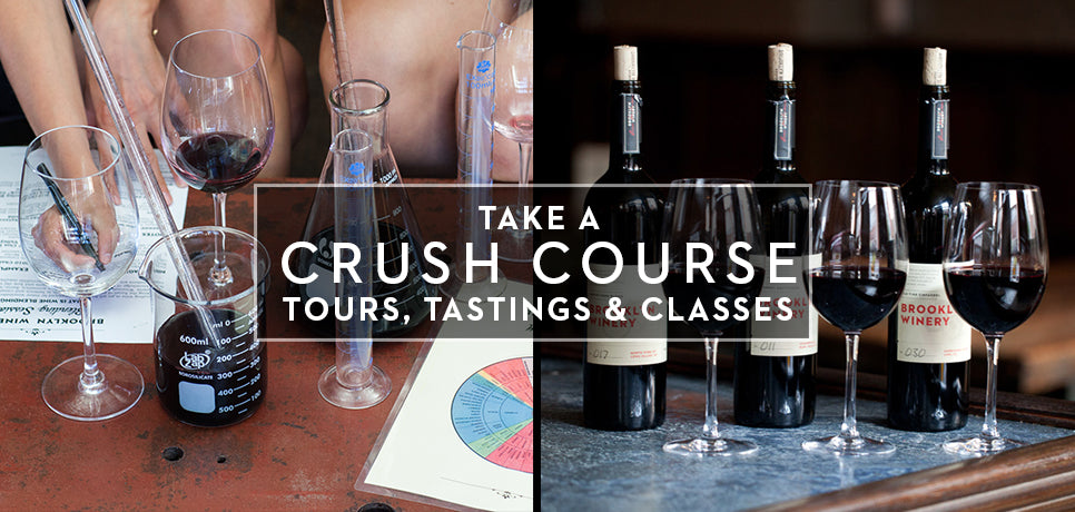 Brooklyn Winery Crush Course