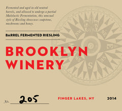 2014 Riesling - Barrel Fermented