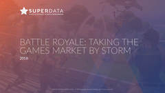 BATTLE ROYALE: TAKING THE GAMES MARKET BY STORM