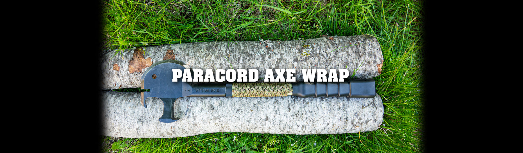 Paracord Axe Wrap