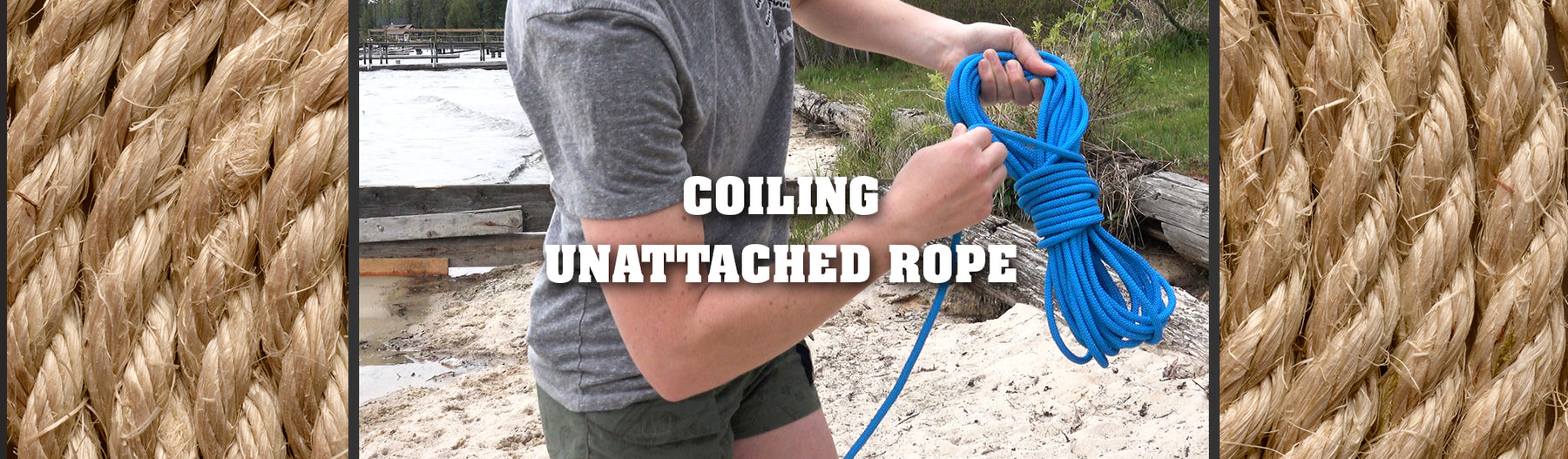Coiling Unattached Rope
