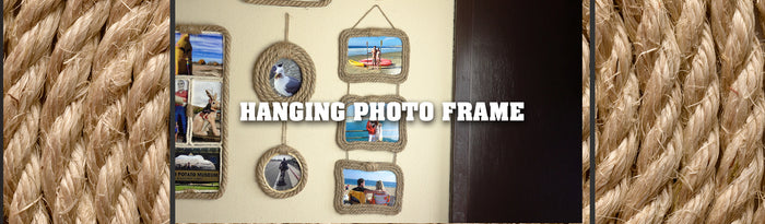 Hanging Picture Frames Tutorial