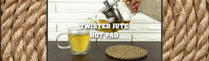 Twisted Jute Kitchen Hot Pad Tutorial