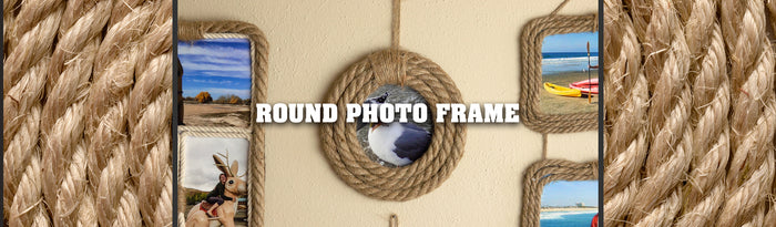 Round Picture Frame Tutorial