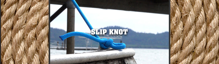 Tying a Slip Knot & How to Use It