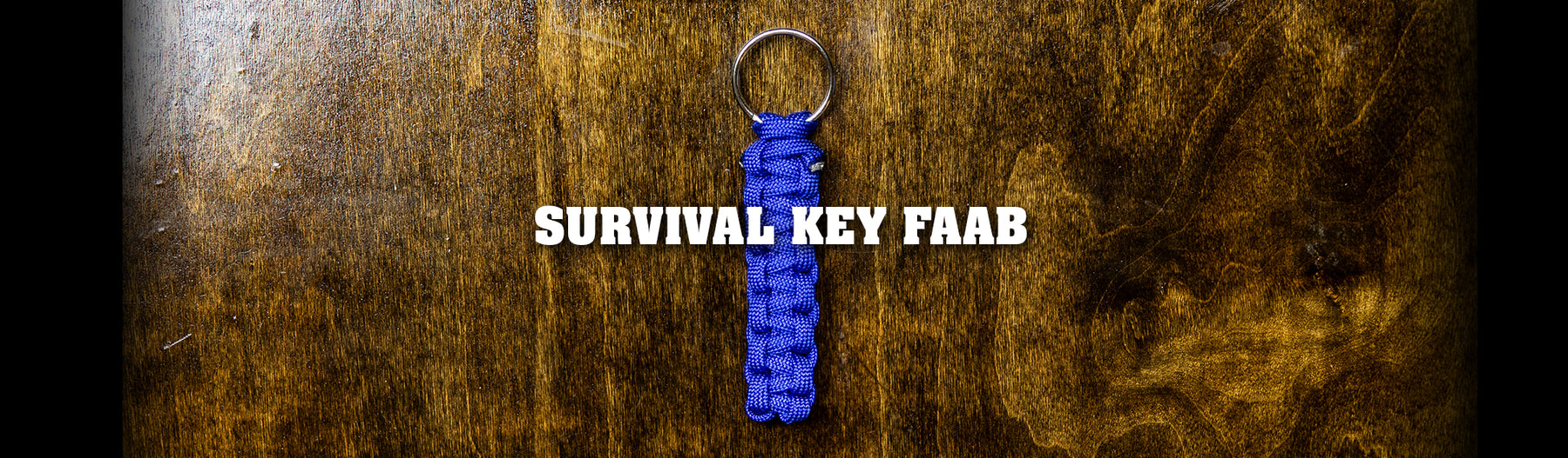 Easy Paracord Survival Key Faab
