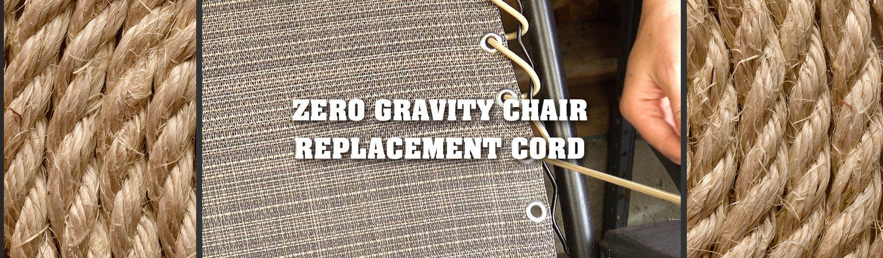 Product Feature: Zero Gravity Style Chair Universal Replacement Lace Kit