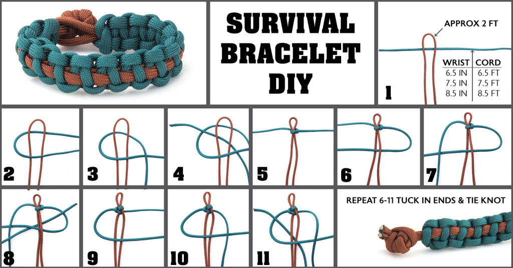 Survival Bracelet How To