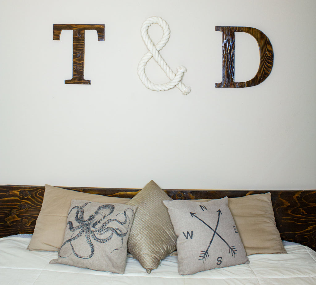 Rope Letter Decor DIY