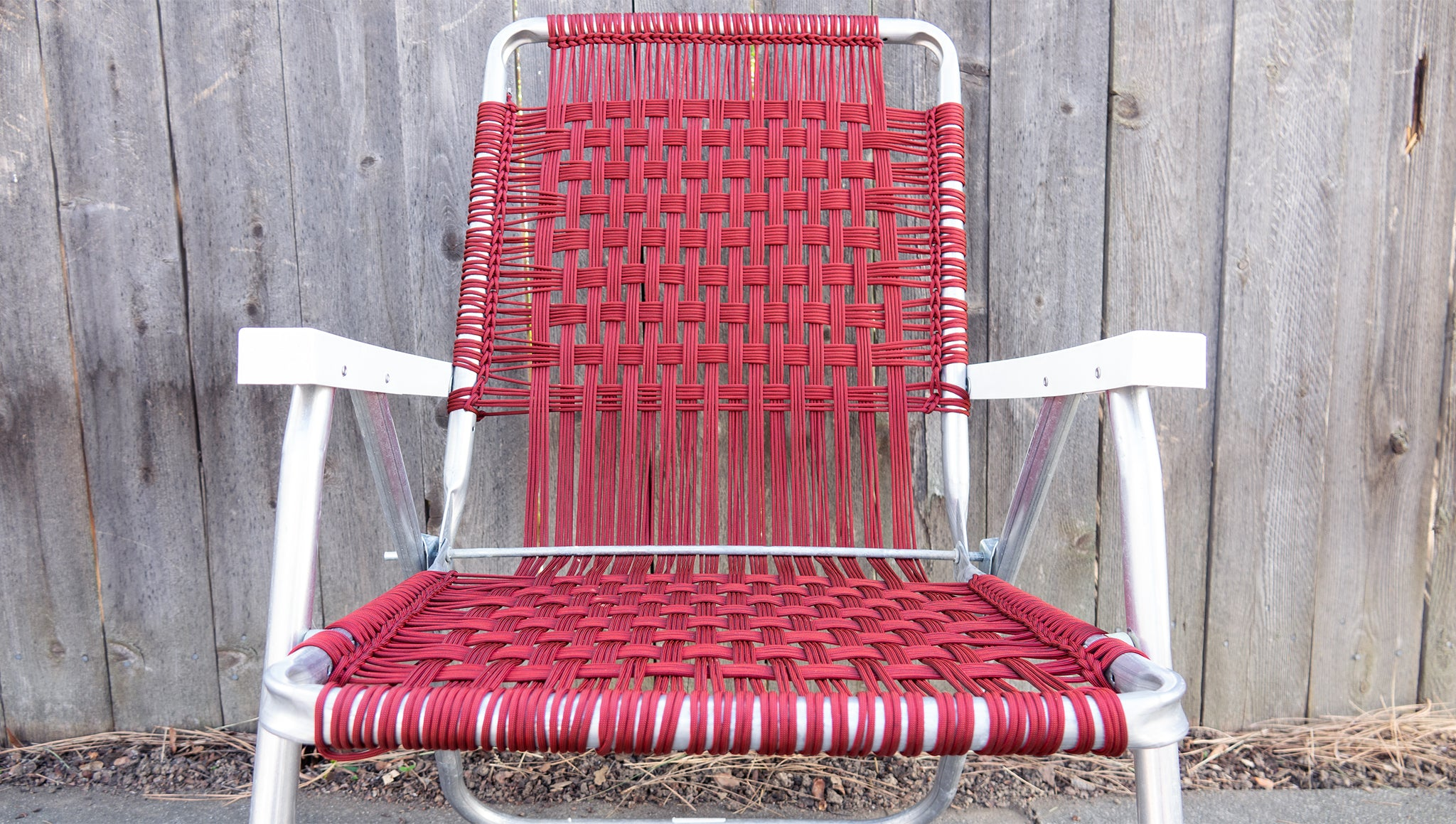 Lawn Chair Upcycle