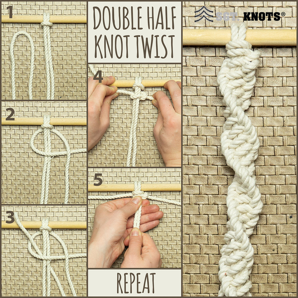 Double Half Knot Twist