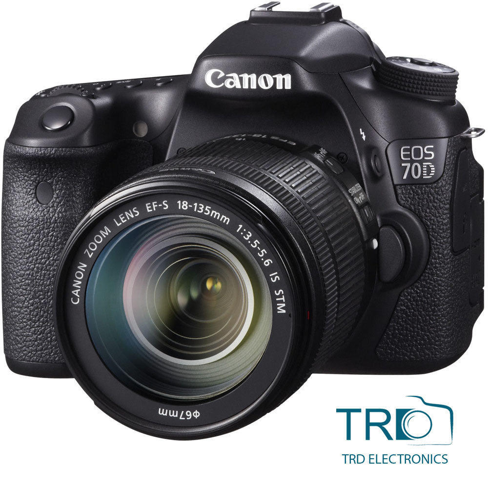 CANON EOS 70D with EF-S 18-135mm f/3.5-5.6 IS Lens