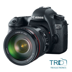 Canon EOS 6D EF Digital SLR + 24-105mm f/4 L IS USM lens