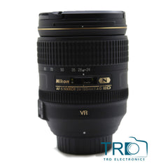 Nikon AF-S Nikkor 24-120mm F/4G ED VR Lens With White Box