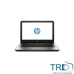 "HP 14-an001na Laptop 14"" AMD E2-7110 1.8GHz 4GB RAM 500GB HDD Windows 10 Silver"
