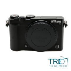 Nikon 1 J5 Mirrorless Digital Camera with 10-30mm Lens Black