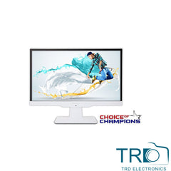 ViewSonic VX2263SMHL 22 inch FHD SuperClear IPS LED 2ms, HDMI/VGA, MHL, White