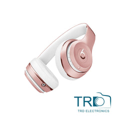 Beats By Dr Dre Solo 3 Wireless Bluetooth MNET2ZM/A Rose Gold Headphones