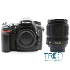 Nikon D7100 24.1MP With AF-S DX NIKKOR 18-105mm f/3.5-5.6G ED VR Lens