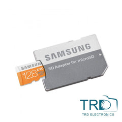 Samsung 128GB UHS-I (Class 10) Memory Card with Adapter