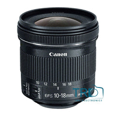Canon EF-S 10-18mm f 4 5-5 6 IS STM Lens