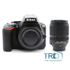 Nikon D5500 DSLR Camera with Nikon AF-S 18-140mm lens
