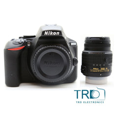 Nikon D5500 DSLR Camera with Nikon AF-S 18-55mm VR II l