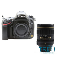 Nikon D610 With AF-S NIKKOR 24-120mm f/4G ED VR Lens