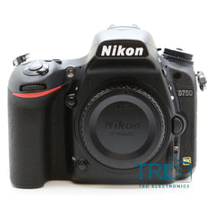 "Nikon D750 DSLR 3.2""LCD Camera Body Only"