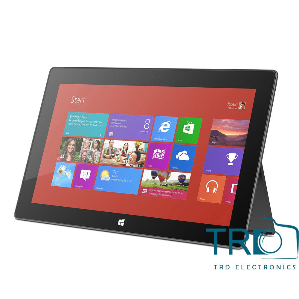 Microsoft Surface Tablet 2GB RAM - 64GB HDD With Windows RT - DSR