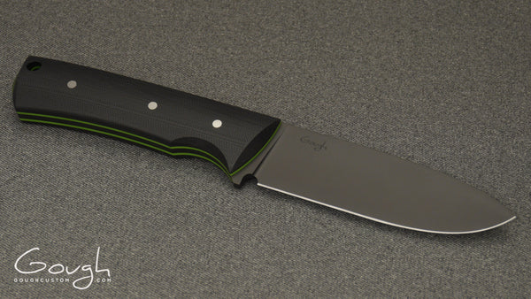 Resolute MkIII hunting and camping knife on grey background