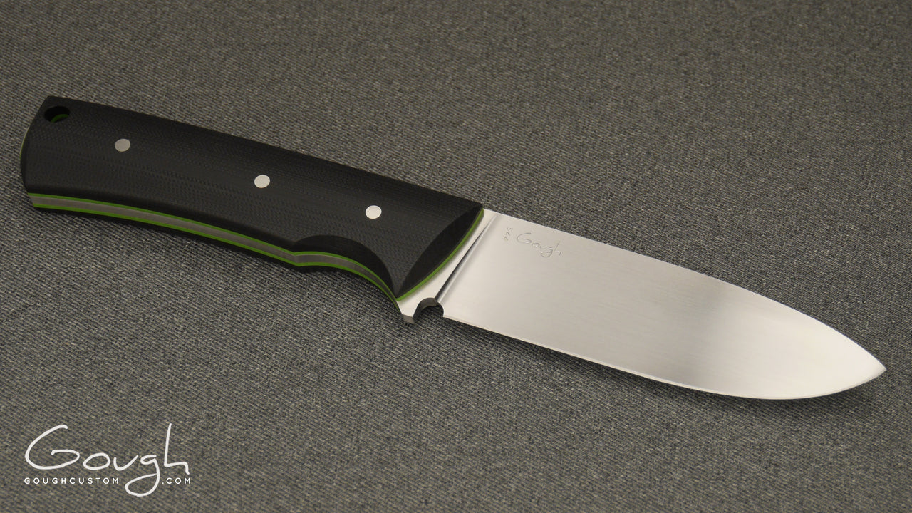 Resolute MkIII - Satin - Black w/ Green Liners