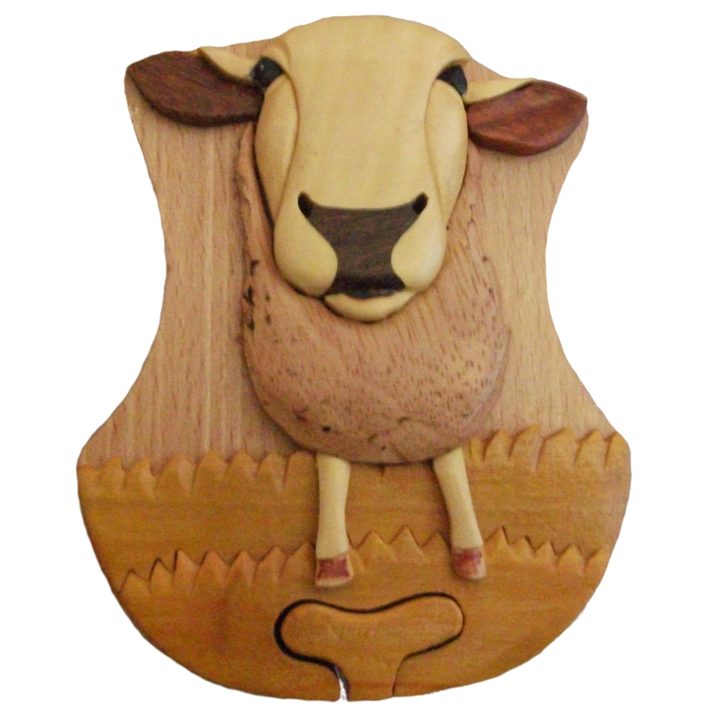 Sheep Puzzle Box