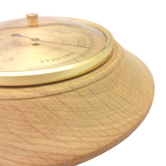 Timber-Treasures Hand Turned Barometer in Cinderford Oak