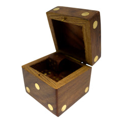 Timber-Treasures Dice Box ad Dice