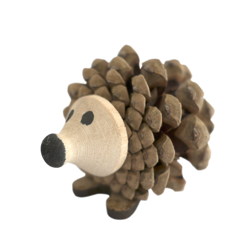 Timber-Treasures Pine Cone Hedgehog