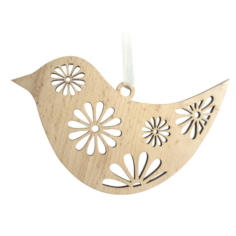 Timber-Treasures Large Bird Laser Cut Hanging Decoration