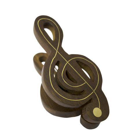 Timber-Treasures Treble Clef Music Clip