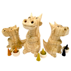 Smoking Dragon Family Incense Burners