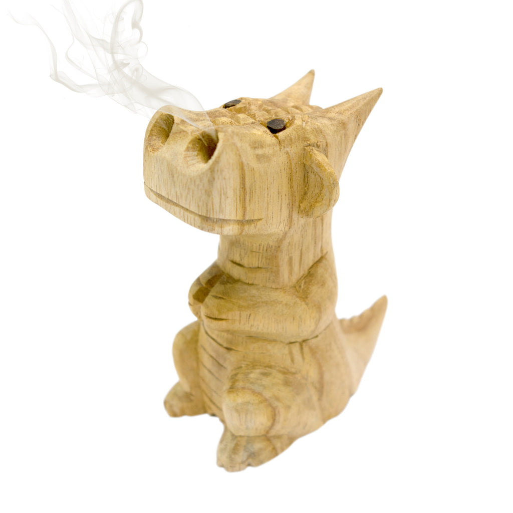 Medium Smoking Dragon Incense Burner