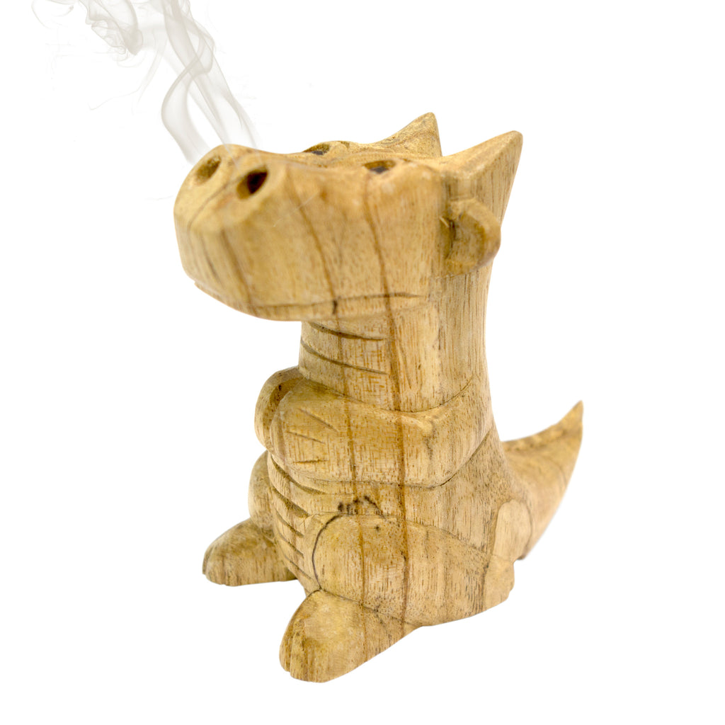 Small Smoking Dragon Incense Burner