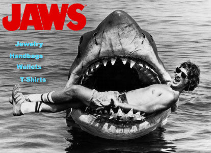 JAWS Handbags and Jewelry! by Rock Rebel