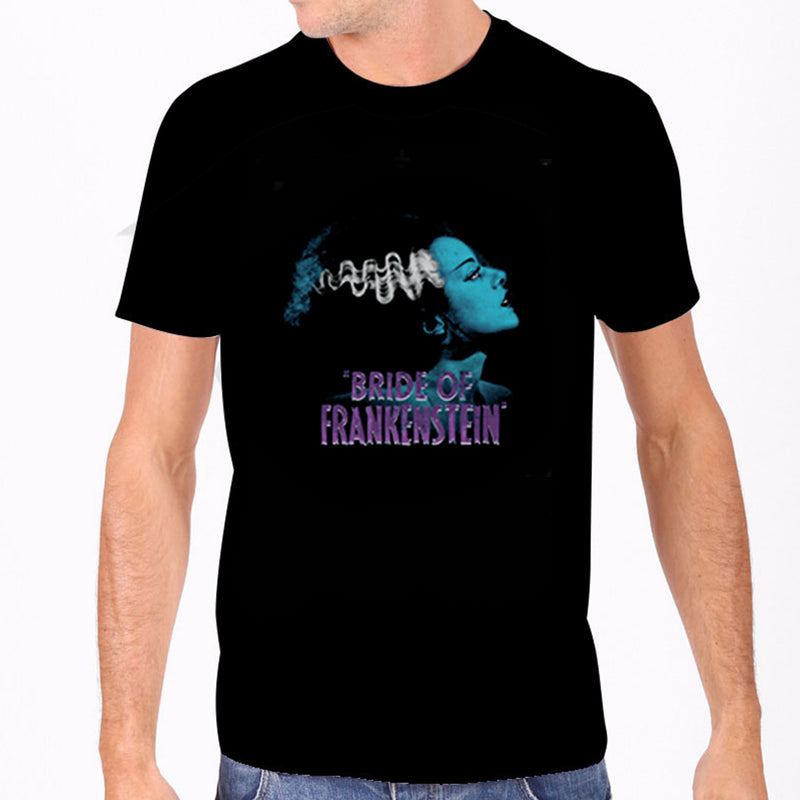 Blue Bride of Frankenstein Men's Tee